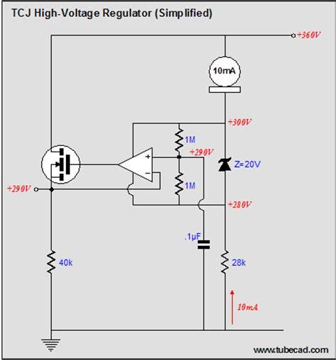 high power transistor voltage regulator a new high voltage regulator