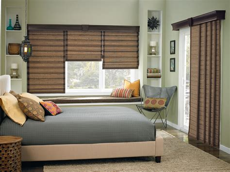 bedroom window blinds wide window solutions contemporary bedroom other metro by bali blinds