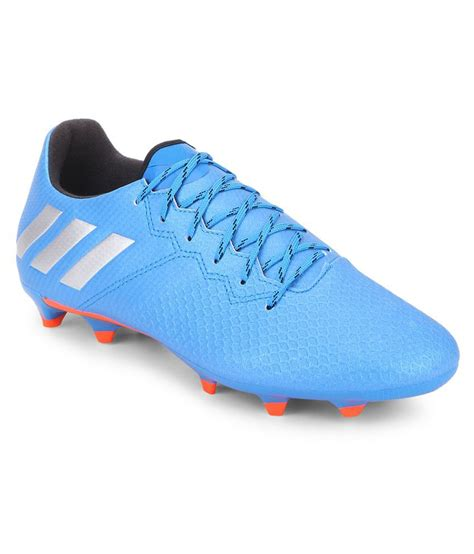 shoes football adidas adidas messi 16 3 fg blue football shoes buy adidas