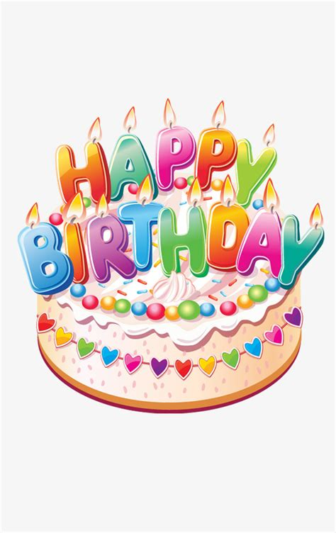 Cake Decoration Images by Birthday Cake Decoration Material Birthday Clipart Cake