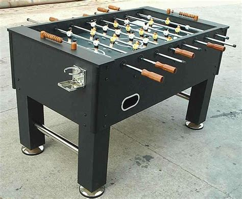 Sport Foosball Table Glass Top Foosball Table
