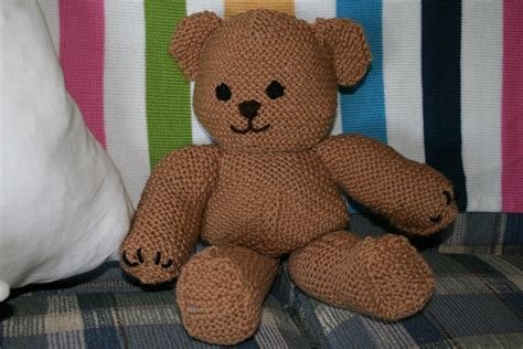 teddy knitting patterns free joyful strength knit teddy