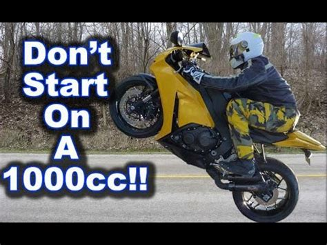 1000ccm Motorrad by Why You Shouldn T Start On A 1000cc Superbike Motorcycle
