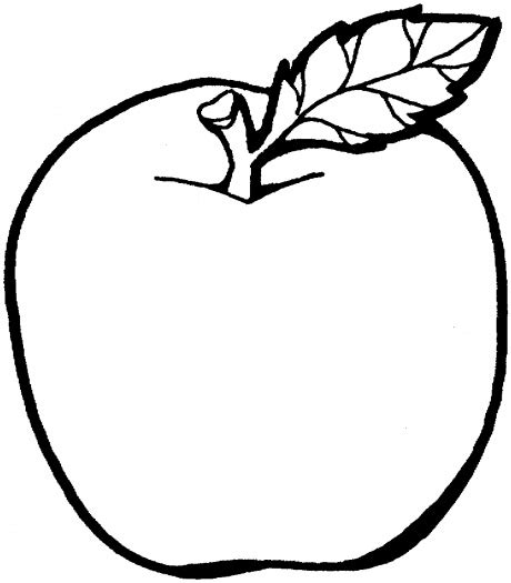 coloring apple clipart best apple to color clipart best