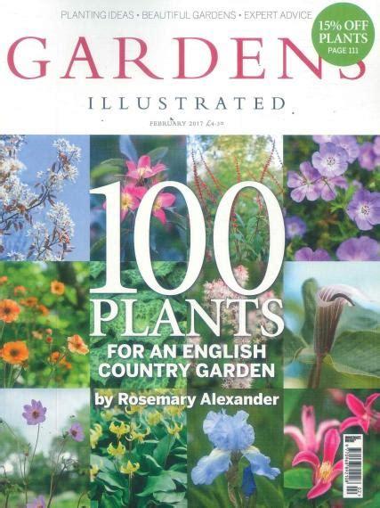 gardens illustrated magazine subscription