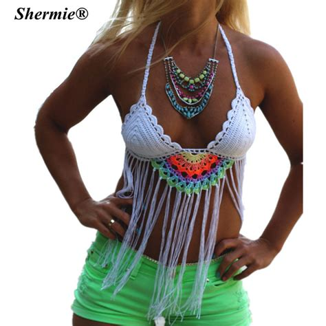 Handmade Swimsuits - aliexpress buy 2016 crochet tassel