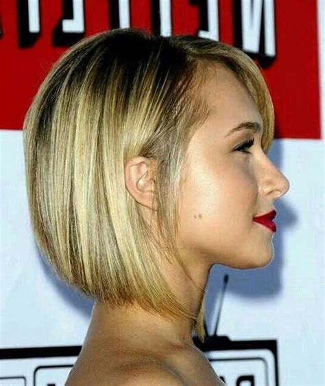bob hairstyle pictures back and sides 15 best hayden panettiere bob haircuts short hairstyles