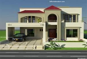 home design for pakistan 3d front elevation 1 kanal plot house design europen