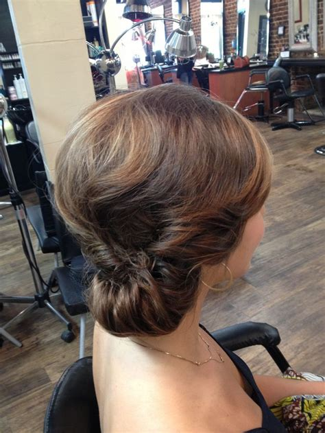 best 25 side chignon ideas on side bun updo