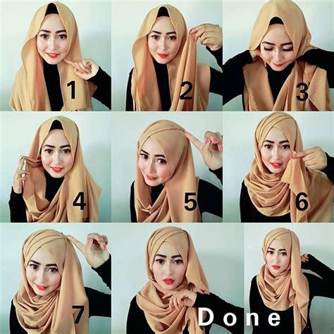 beautiful hijab styles  scarf wearing ideas