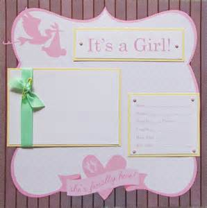 20 baby scrapbook pages for 12x12 first year album