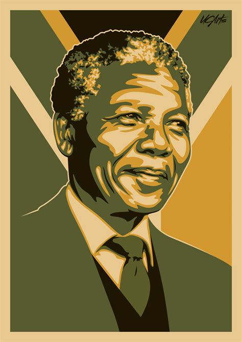 design art nelson mandela by ucarts in features journal quot tribute to nelson