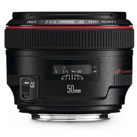 canon ef 50mm f1.2 l usm lens | uk camera