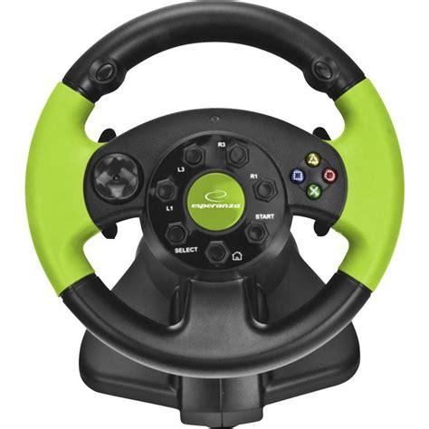 volante xbox 360 pc volant esperanza eg104 usb pc playstation 174 3 xbox 360