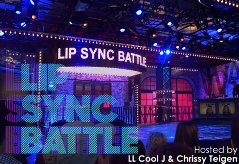 Lip Syncs Through Second Show by Lip Sync Battle Tv Show Hosted By Ll Cool J Free Tickets