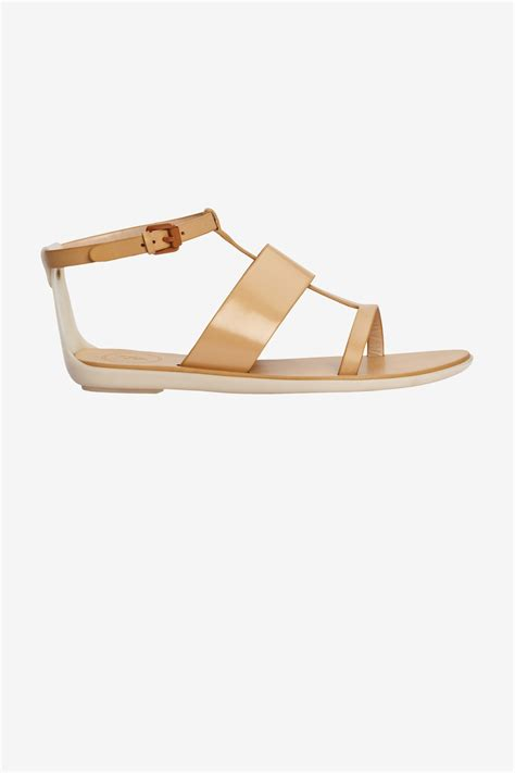 Sandal Connexion 18 connection tamara flat sandals in brown