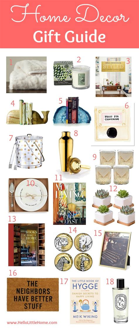 home decor gift guide hello home