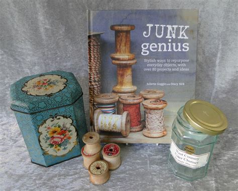 junk genius stylish ways to repurpose everyday objects with 80 projects and ideas books miss beatrix junk genius a book review