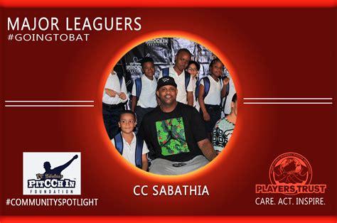 Sabathia Cc Sabathia Also Search For Goingtobat Community Spotlight Cc Sabathia 3bl Media