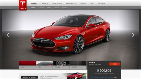 Price Model S Tesla Tesla Model S Officially On Sale In Australia Here S The