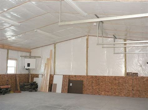 Insulating A Pole Barn Garage by 9 Best Images About Pole Building Insulation On