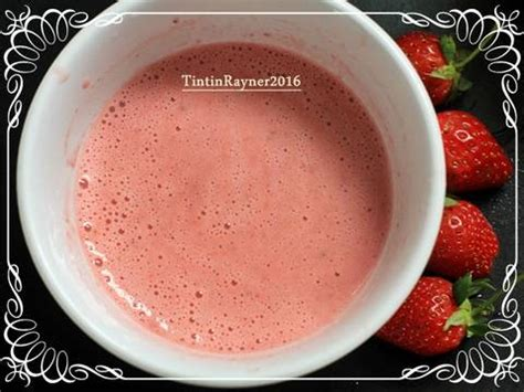 membuat yogurt strawberry resep ogura cake strawberry yoghurt cottony with fresh
