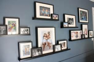 ikea picture shelves diy family room renovation and reveal