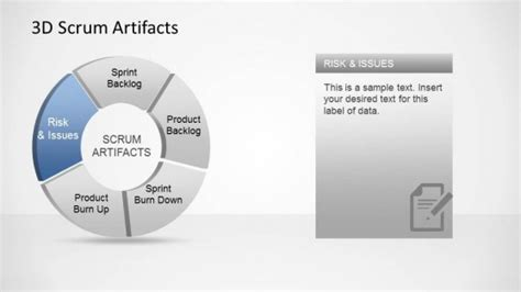agile artifacts templates 3d agile scrum powerpoint diagram slidemodel