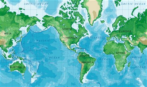 mercator map projection map projections cartographic projections