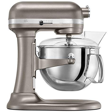 Best Price On Kitchenaid Mixer Kitchenaid Stand Mixer 6 Qt Pro 600 Nickel Pearl