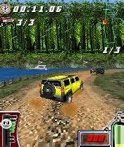 hummer jump and race 320x240.jar, hummer jump and race, 3d