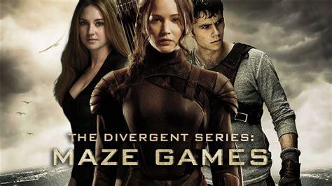 films like maze runner hunger games the maze games official trailer divergent hunger games