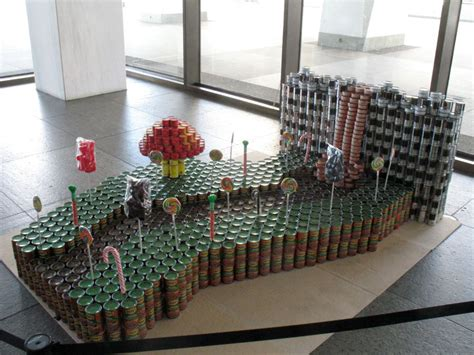 canstruction ideas canstruction 2014 all over albany