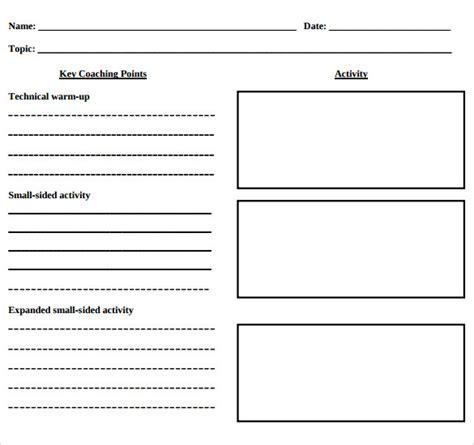 basic lesson plan template blank lesson plan template 11 free sles