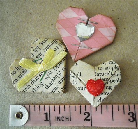 Mini Origami Hearts - my mini origami hearts