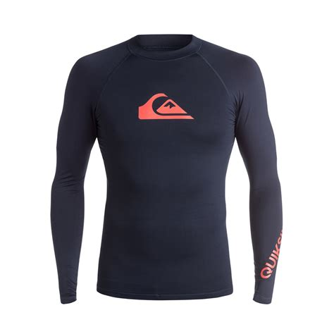 Quicksilver 3 Time quiksilver all time sleeve rash vest gwithian