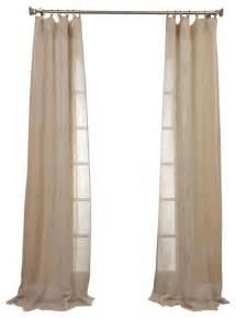 open weave drapes open weave linen sheer quot contemporary curtains