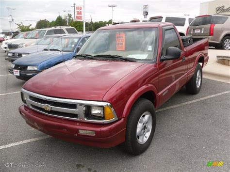 1996 chevrolet s10 1996 medium metallic chevrolet s10 ls regular cab 4x4