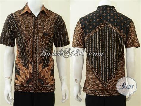 Baju Daleman Bola baju batik tulis motif klasik matahari kemeja batik premium furing laki laki til gagah