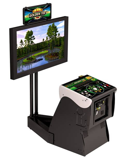 Buy Golden Tee Gift Card - 2018 golden tee golf live arcade game with monitor stand ebay