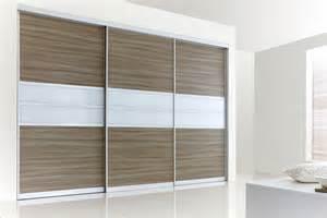sliding wardrobes modern walnut white glass fitted wardrobe
