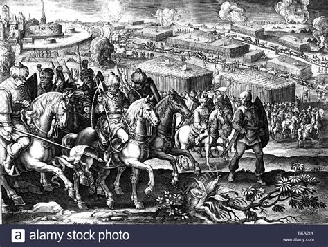 Ottoman Siege Of Vienna Events Ottoman Wars Siege Of Vienna 1529 Retreat Of The Ottoman Stock Photo Royalty Free