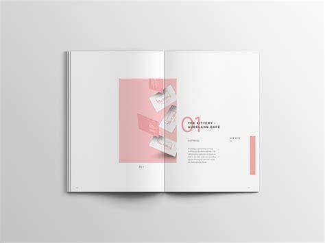 graphic design portfolio minimal simple on behance