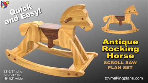 how to make your own sex swing wood toy plans heirloom rocking horse youtube