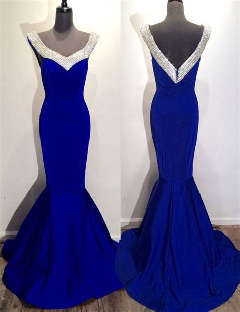 Blue Mermaid Dress By Ralph best 25 royal blue evening gown ideas on