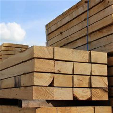 Untreated Railway Sleepers by Railway Sleepers Buy Uk Sleepers