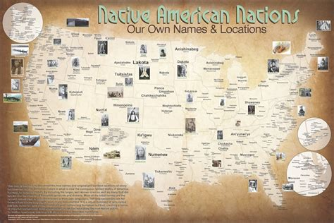 indian tribes map nations map 1491 census heritage project
