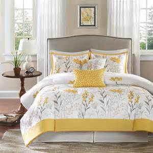 Blue And Yellow Duvet Covers Meadow 4 Piece Comforter Set Wayfair