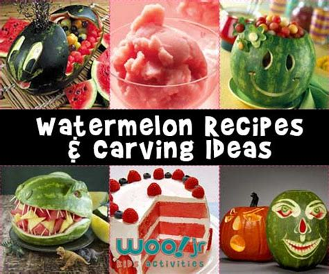 watermelon carving templates carving fruit summer recipes watermelon baskets