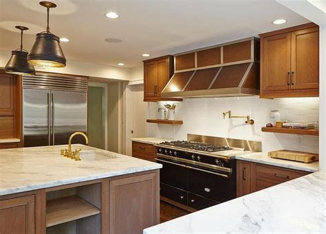 stained oak french kitchen hood design ideas page 1 the 25 best brown fitted cabinets ideas on pinterest